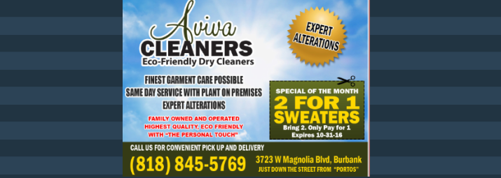 AD-AVIVA-CLEANERS
